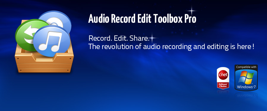 Easily Record, Edit and Share the Music
