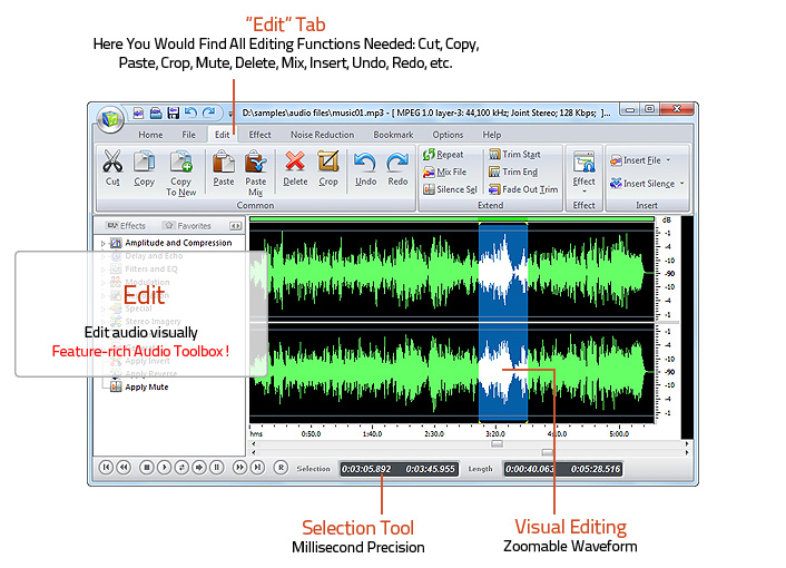 Edit Audio File