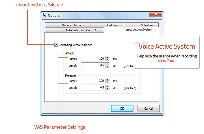 Voice Active System