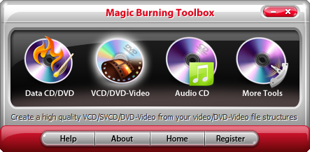 Magic Burning Toolbox Screen shot